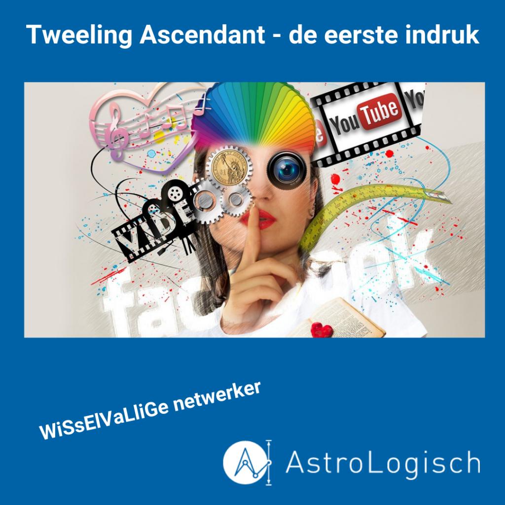 AstroLogisch Tweeling Ascendant - de eerste indruk