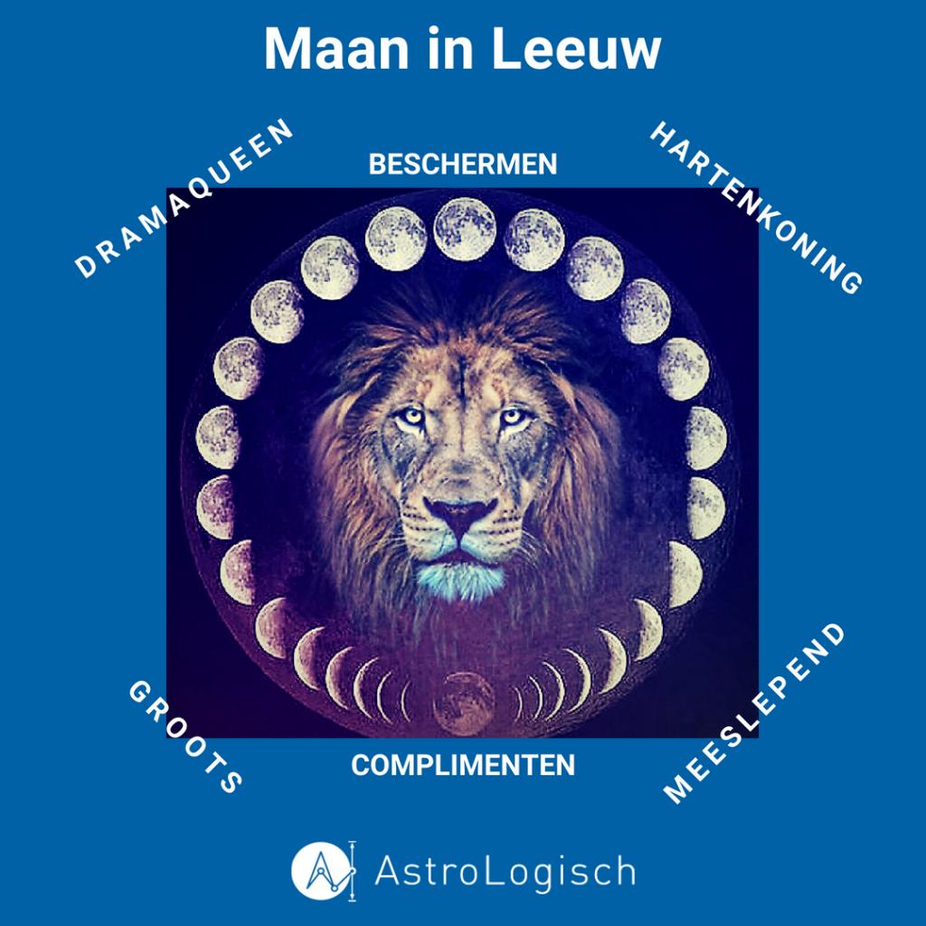 AstroLogisch Maan in Leeuw kenmerken