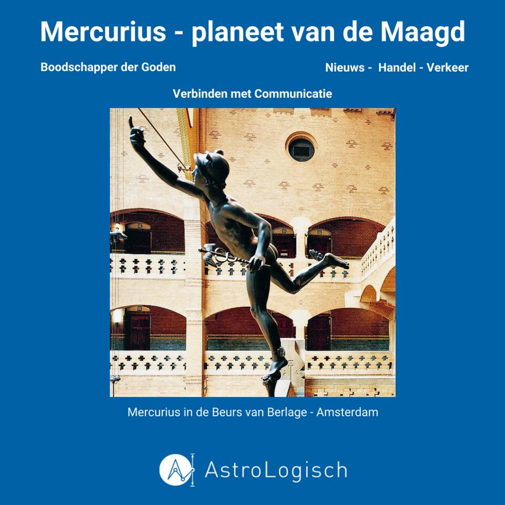 Boodschapper der Goden, Mercurius, Beurs van Berlage, handel, verkeer, nieuws verbinding