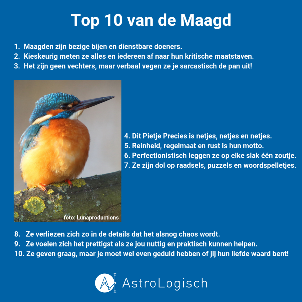 Top 10 van de Maagd, video, inspiratie