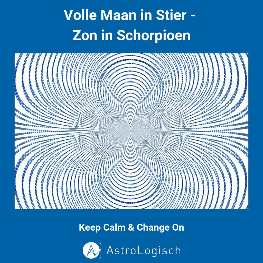 Volle Maan, Stier, Schorpioen, Keep Calm and Change On,