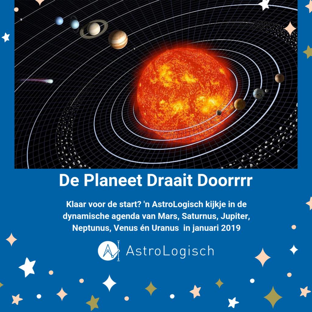 AstroLogisch, de planeet draait doorrrr, transits