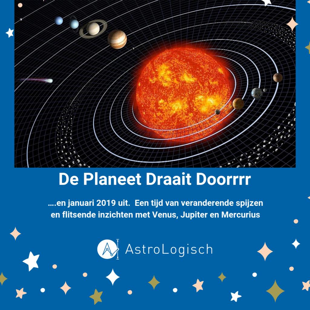 de planeten draaien doorrrr, AstroLogisch