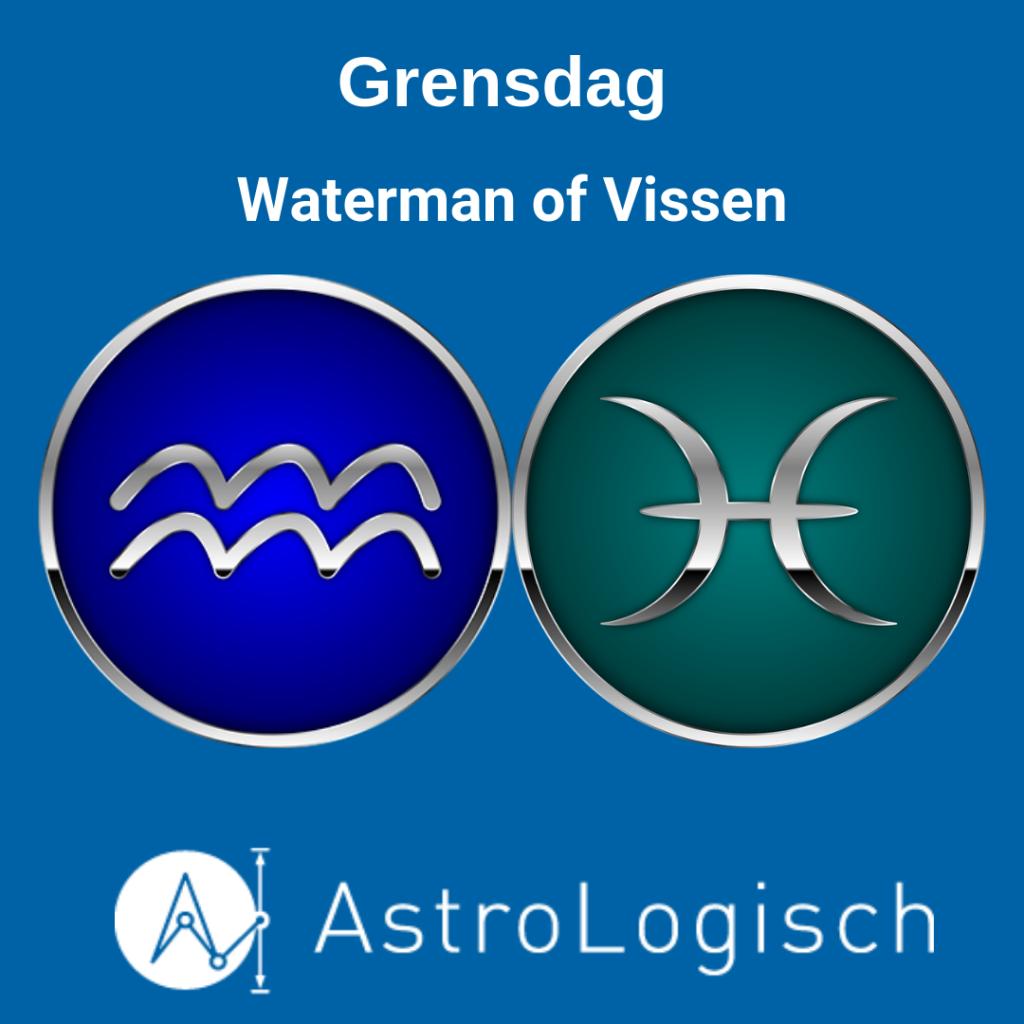 AstroLogisch, grensdag Waterman of Vissen,
