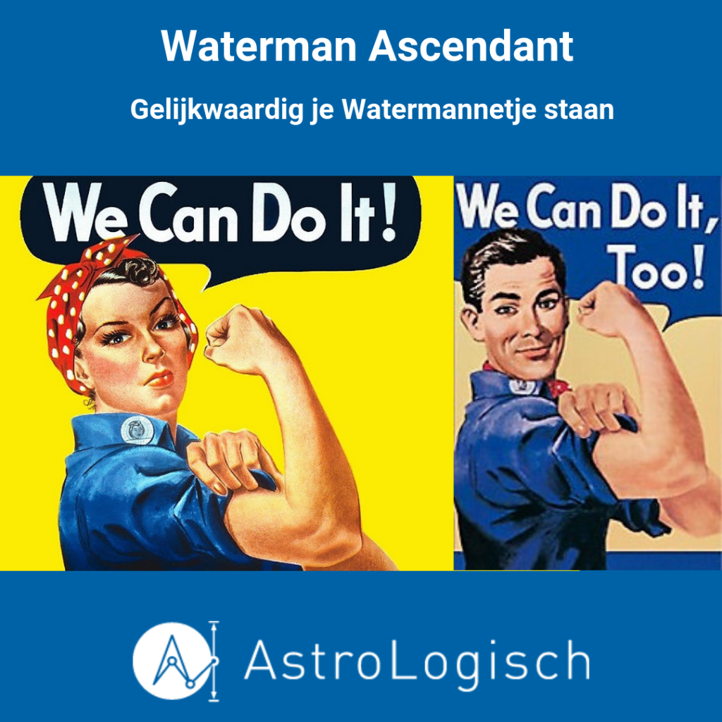 AstroLogisch Waterman Ascendant, we can do it