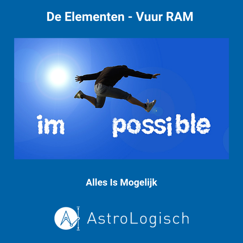 AstroLogisch Elementen Vuur Ram