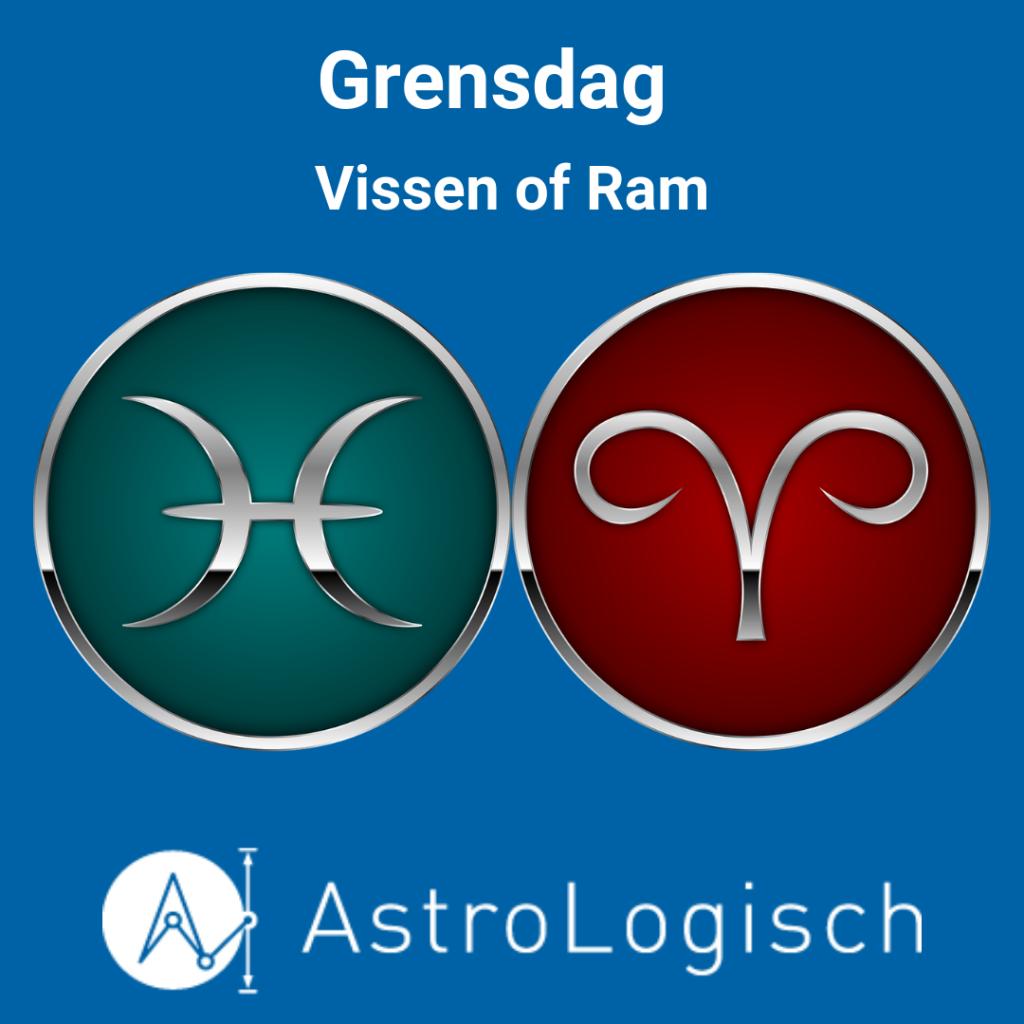 AstroLogisch Grensdag Vissen of Ram