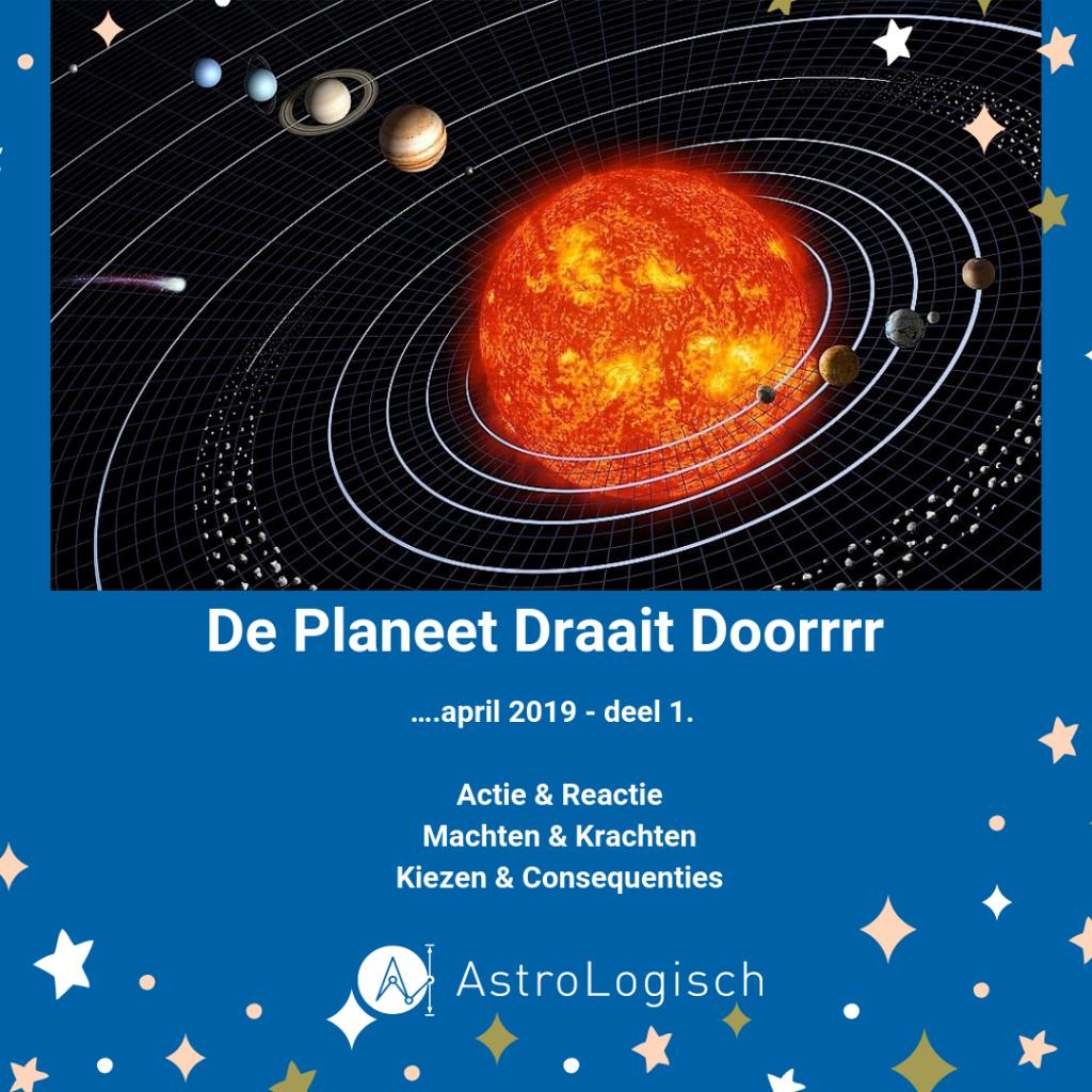 AstroLogisch De sterren draaien doorrrr, macht en kracht, keuzes en consequenties, actie en reactie, april 2019 Ram