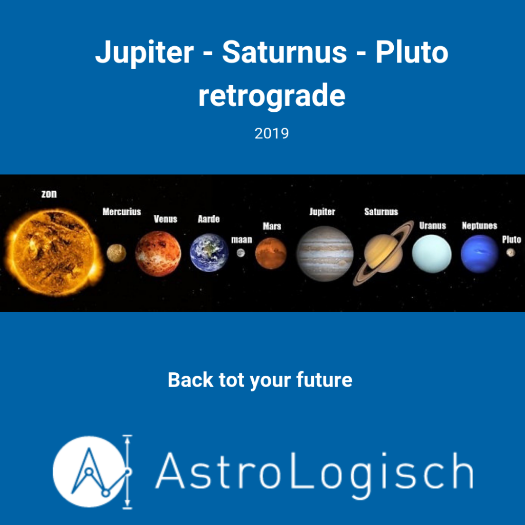 AstroLogisch Jupiter Saturnus Pluto retrograde 201904, back to your future