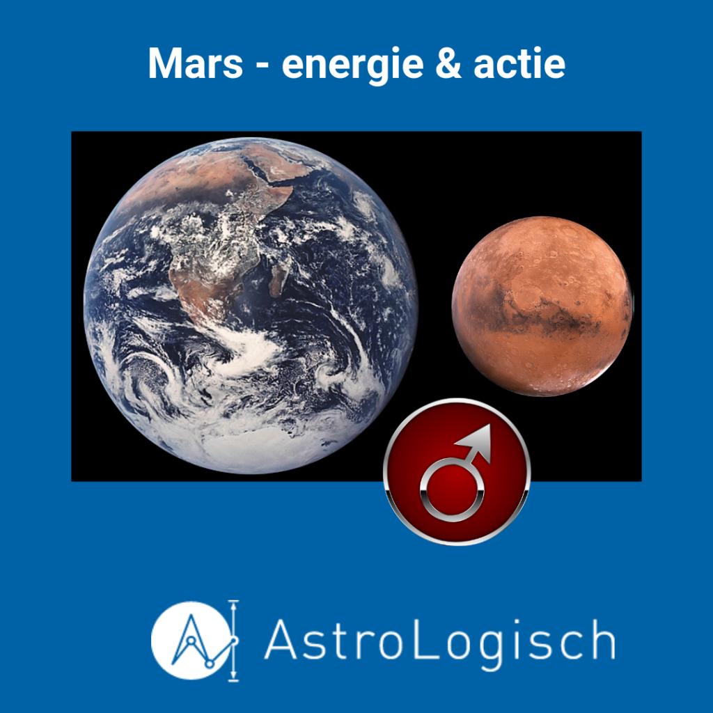 AstroLogisch Mars energie en actie, sport