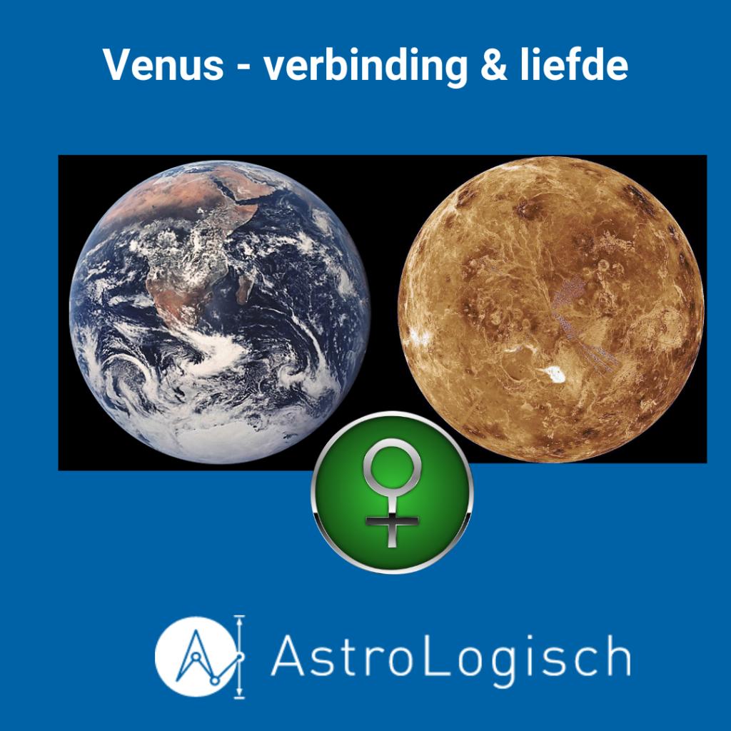AstroLogisch Venus - verbinding en liefde