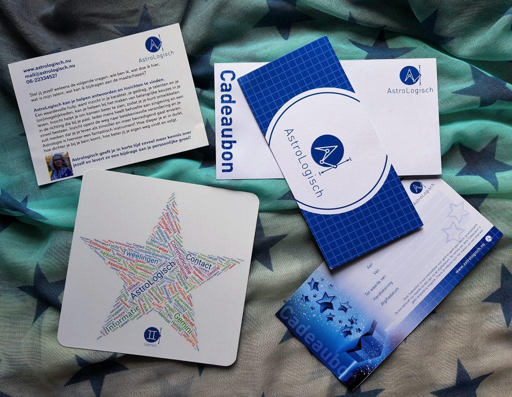 AstroLogische cadeauset Tweeling, AstroLogisch cadeau