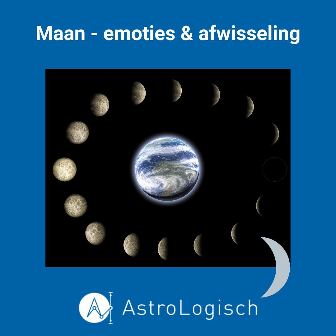 AstroLogisch Maan - emoties en afwisseling