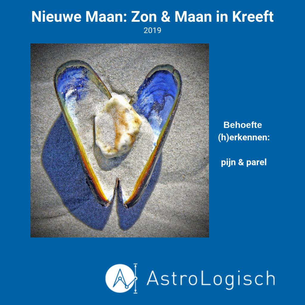 AstroLogisch Nieuwe Maan in Kreeft 2019