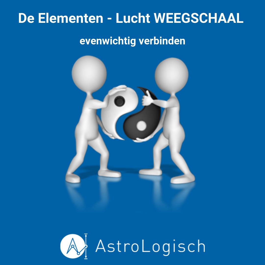AstroLogisch De Elementen - Lucht Weegschaal