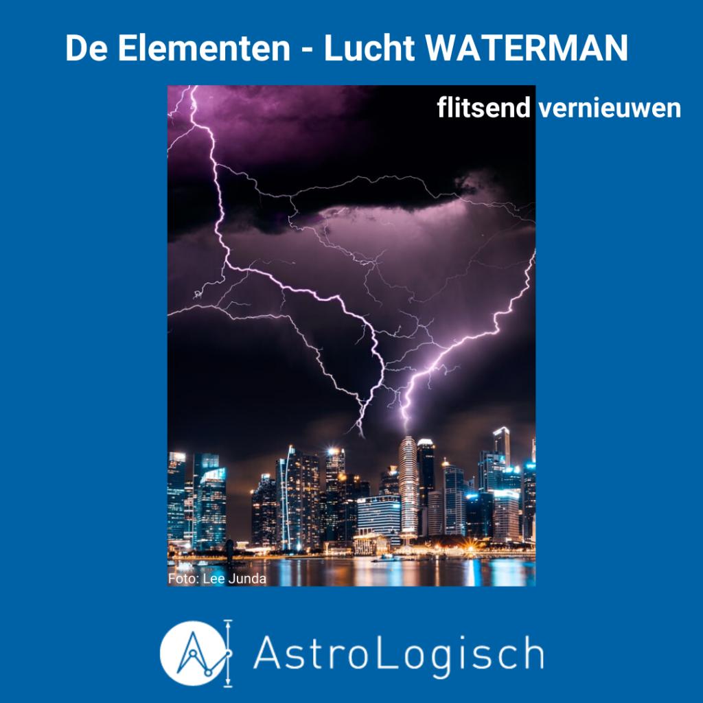 AstroLogisch - De Elementen - Lucht Waterman