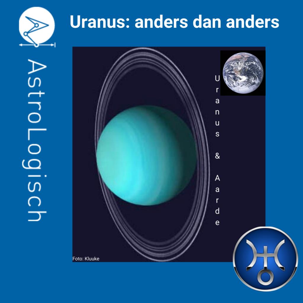 AstroLogisch Uranus anders dan anders