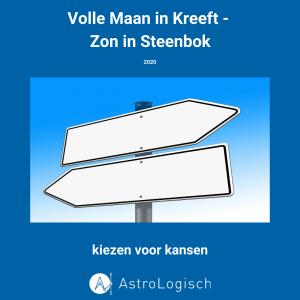 AstroLogisch Volle Maan in Kreeft - Zon in Steenbok 2020