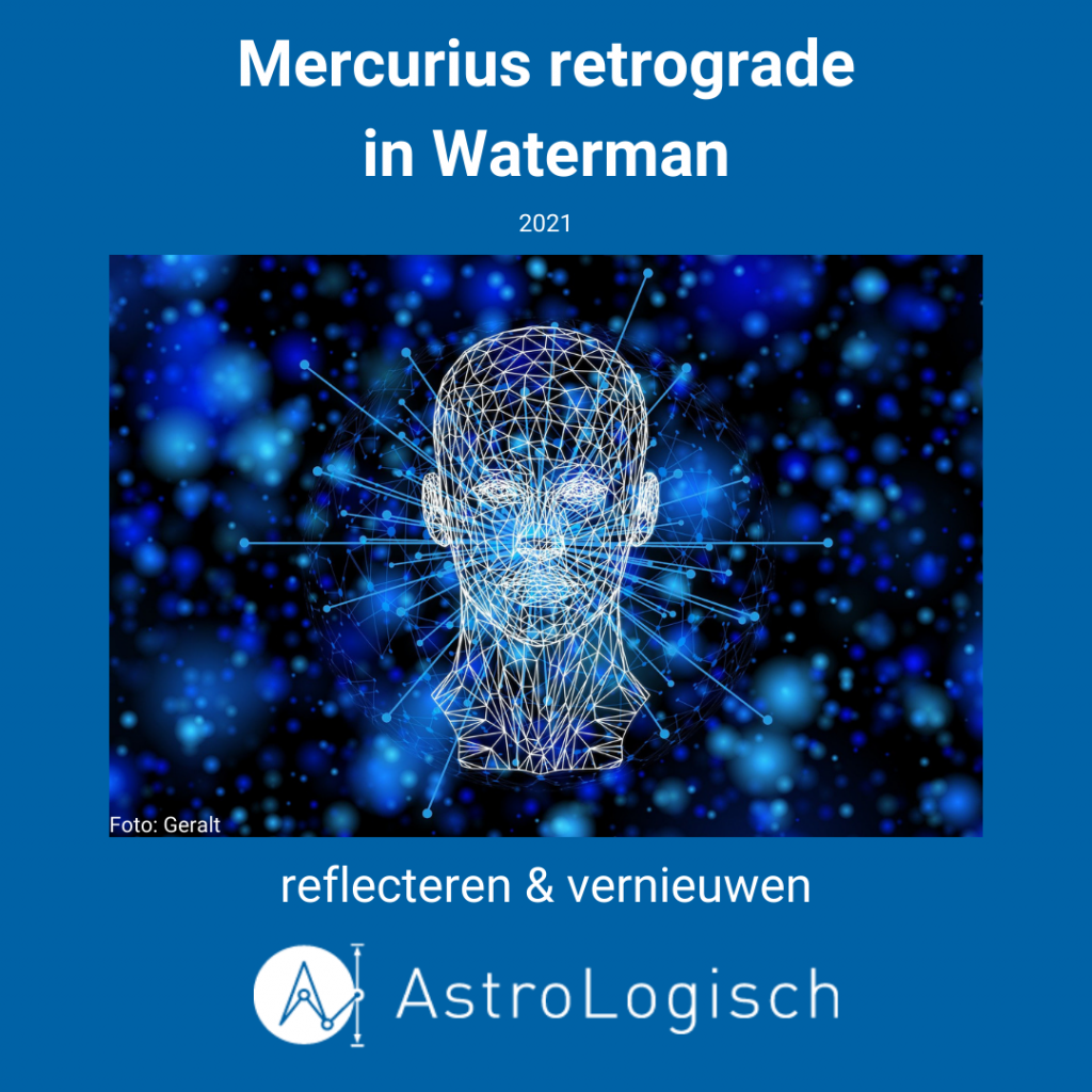 AstroLogisch Mercurius retrograde in Waterman - 2021