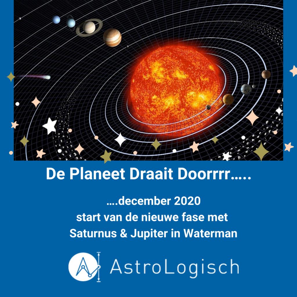 AstroLogisch De Planeet draait Doorrrr - december 2020