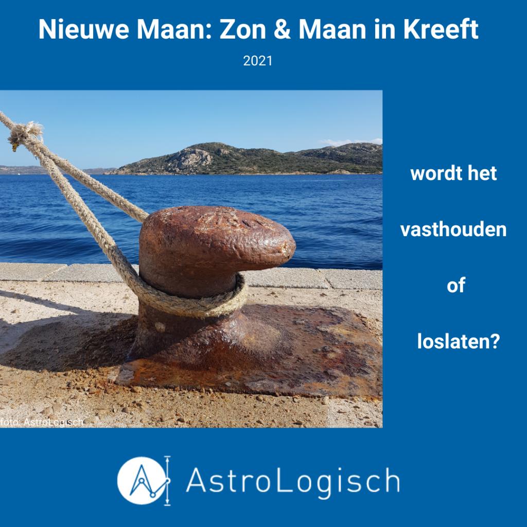 AstroLogisch Nieuwe Maan Zon & Maan in Kreeft - 2021