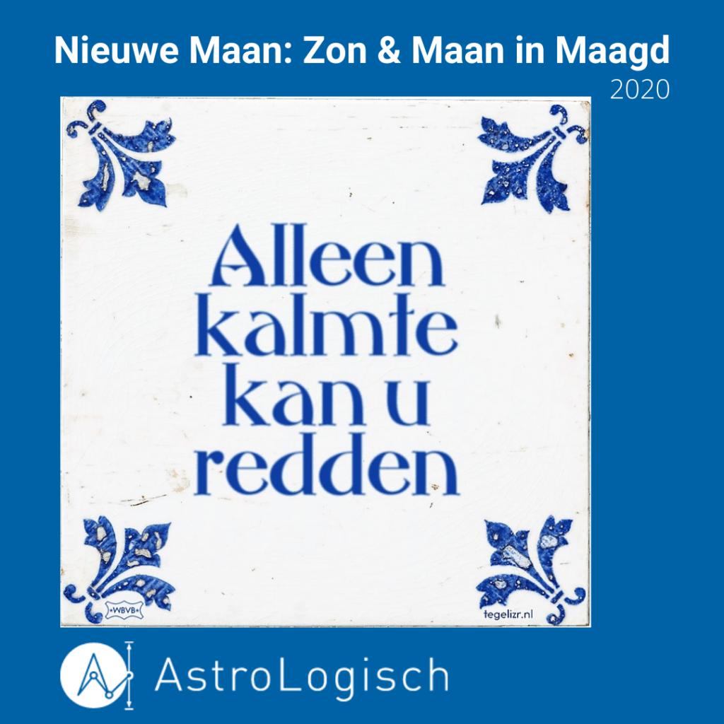 AstroLogisch Nieuwe Maan_ Zon & Maan in Maagd 2020