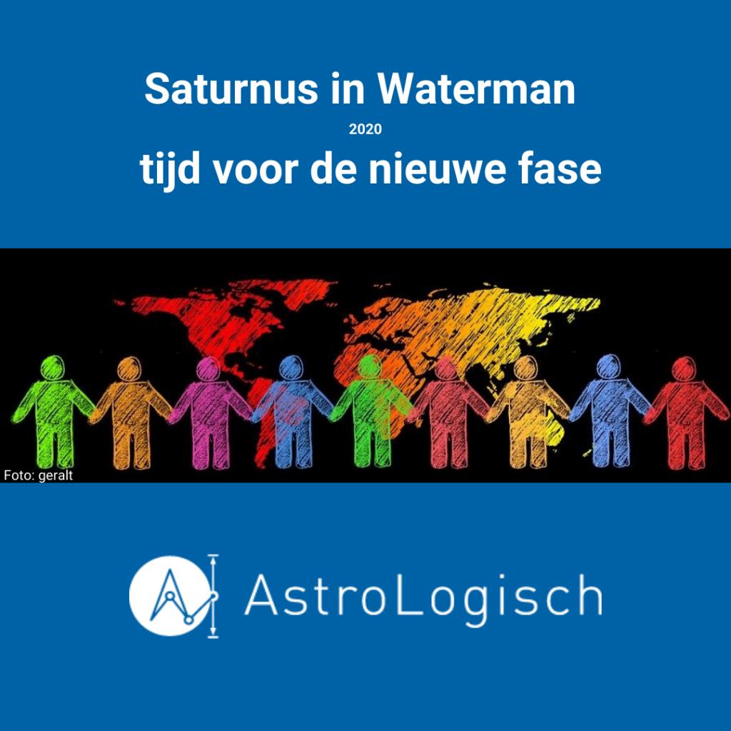 AstroLogisch Saturnus in Waterman 2020 tijd voor de nieuwe fase