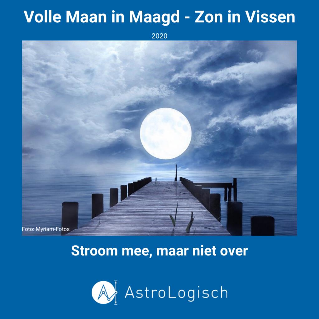 AstroLogisch Volle Maan in Maagd - Zon in Vissen 2020