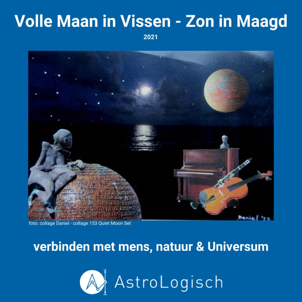 AstroLogisch Volle Maan in Vissen - Zon in Maagd 2021